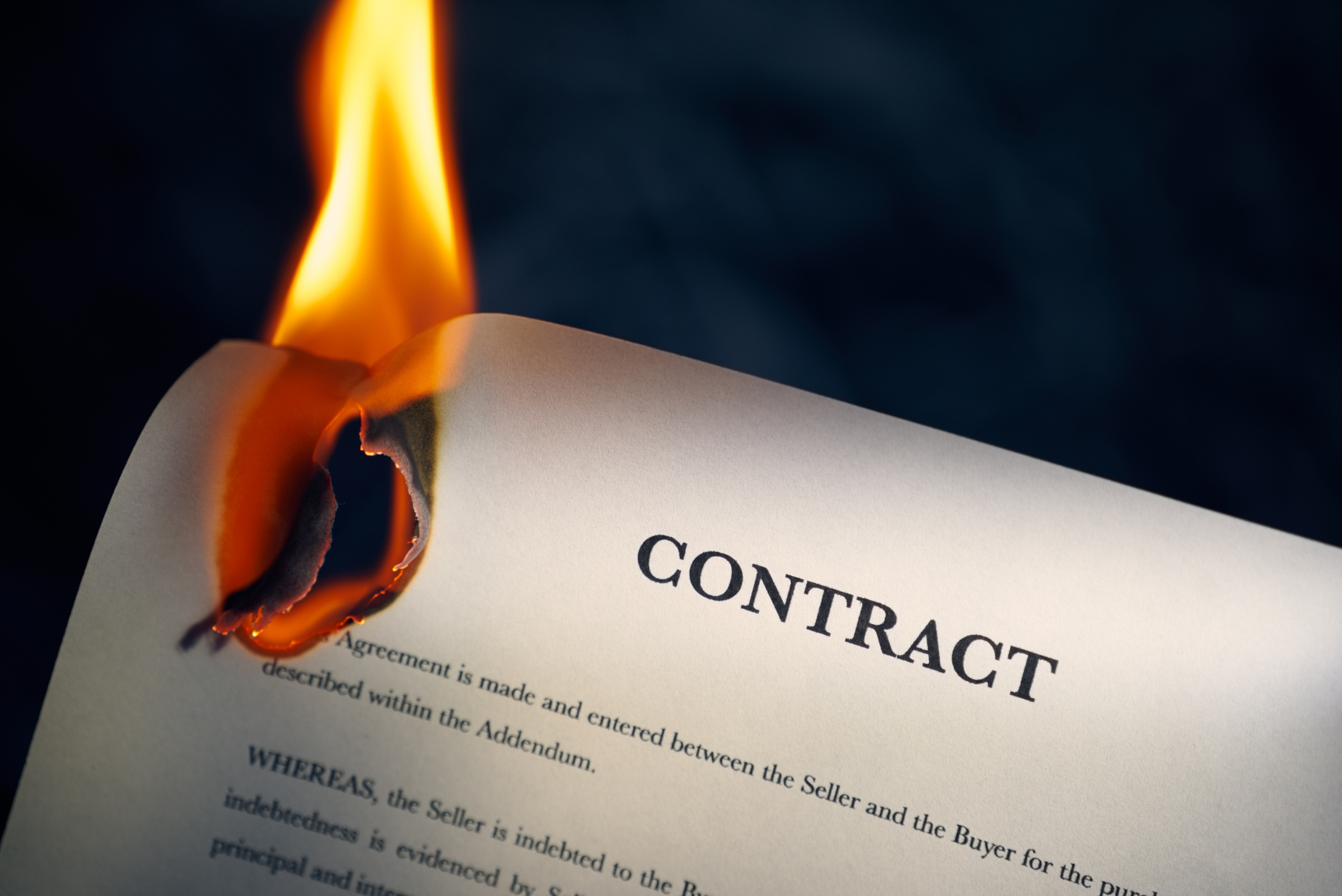 Burning-Contract
