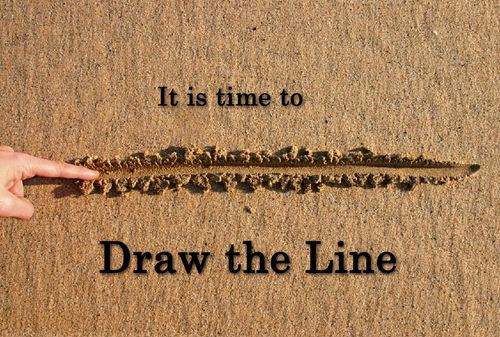 Draw Line In The Sand