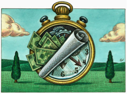 Hour Money Clock