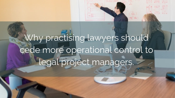 Practising Lawyers Cede Operational Control